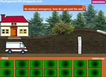 Room-escape-game-with-ambulance