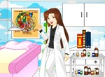 Jeu-de-dress-up-dans-un-cabinet-medical